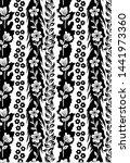 textile black and white art... | Shutterstock . vector #1441973360