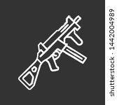 hk ump weapon chalk icon.... | Shutterstock .eps vector #1442004989