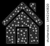 flare mesh closed house door... | Shutterstock .eps vector #1442143820