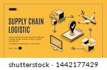 business logistics service ... | Shutterstock .eps vector #1442177429