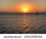 Sailboat In Lake Hefner ...
