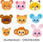 illustration of animals of...   Shutterstock . vector #1442461406