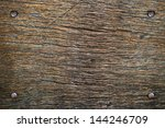 nails in wood | Shutterstock . vector #144246709