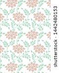 textile design from kolkata for ...   Shutterstock . vector #1442480153