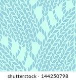 knitted pattern | Shutterstock .eps vector #144250798