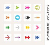 arrow sign icon set. set 02 ...