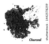 charcoal on white background... | Shutterstock .eps vector #1442578259