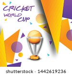 illustration of cricket league... | Shutterstock .eps vector #1442619236