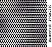 metallic mesh texture vector... | Shutterstock .eps vector #144262960