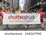new york   june 30 ... | Shutterstock . vector #144267940