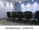 conference room and the empty... | Shutterstock . vector #1442731
