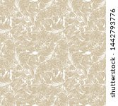 vintage flower pattern... | Shutterstock .eps vector #1442793776