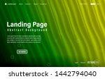 modern website landing page...