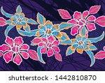 batik indonesian  is a...   Shutterstock .eps vector #1442810870