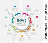 Vector Infographic Circular ...