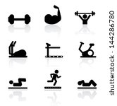 activity,aerobics,athletic,background,band,collection,cute,design,diet,dieting,dots,dumbbell,elliptical,equipment,exercise