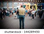 milan  italy   june 29  gay... | Shutterstock . vector #144289450
