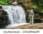 Transparent Plastic Bottle With ...