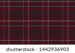 Plaid Check Pattern In Red ...