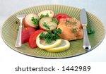 healthy dinner | Shutterstock . vector #1442989