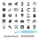 universal icons set 04 | Shutterstock .eps vector #144323500