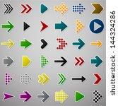 vector illustration of plain... | Shutterstock .eps vector #144324286