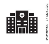 hospital icon vector design... | Shutterstock .eps vector #1443266123