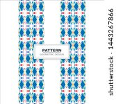 seamless pattern with strips... | Shutterstock .eps vector #1443267866