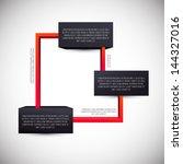 chart module. information place....   Shutterstock .eps vector #144327016