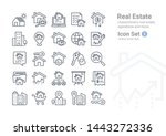 real estate vector icon...   Shutterstock .eps vector #1443272336