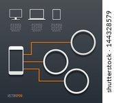 computing concept. technology... | Shutterstock .eps vector #144328579