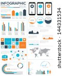 infographic essentials vector... | Shutterstock .eps vector #144331534