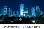 Tel Aviv Panorama At Night  ...