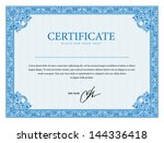template that is used in... | Shutterstock .eps vector #144336418