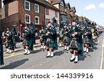 canterbury uk june 25 soldiers... | Shutterstock . vector #144339916