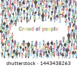 frame for text with different... | Shutterstock .eps vector #1443438263