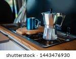 Aqua Bialetti Stovetop Coffee...