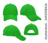 Green Empty Clear Baseball Cap...