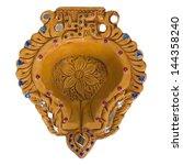 close up of an oil lamp   Shutterstock . vector #144358240