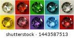 Jewel Tones. Ten Multi Colored...