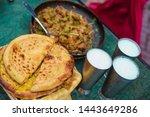 Lahore , Punjab / Pakistan : Chicken Karahi in Food Street Lahore.