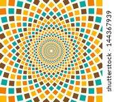 arabesque in color. vector... | Shutterstock .eps vector #144367939