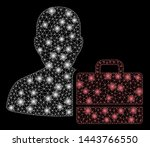 bright mesh accounter with... | Shutterstock .eps vector #1443766550