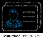bright mesh account cards with... | Shutterstock .eps vector #1443768476