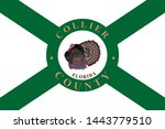 coat of arms of collier county... | Shutterstock .eps vector #1443779510
