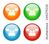 communication icon colorful... | Shutterstock .eps vector #144379210