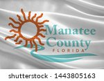 coat of arms of manatee county... | Shutterstock . vector #1443805163