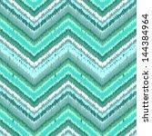 ethnic zigzag pattern in retro... | Shutterstock .eps vector #144384964