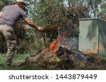 Fire Controlled Burn Off Of...