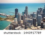 Chicago Cityscape Aerial View ...